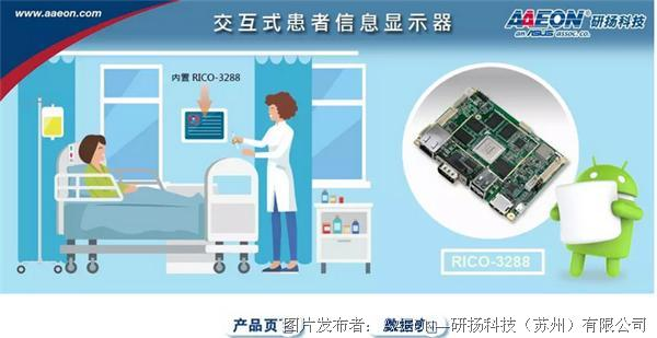 RICO-3288 交互式患者信息显示器