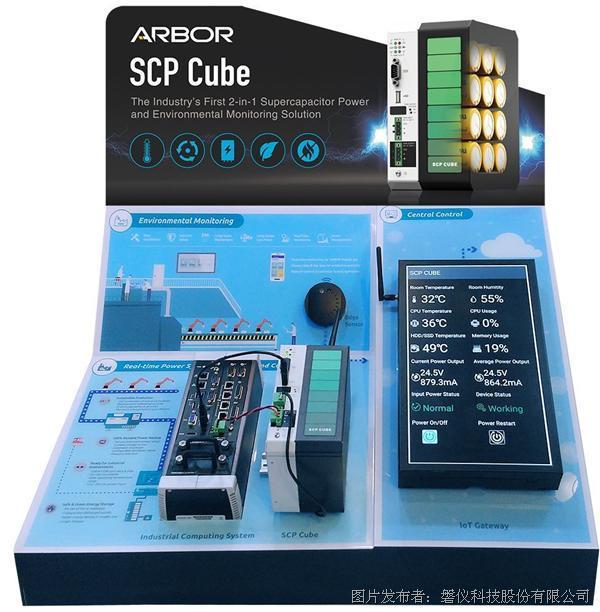 磐仪推出超级电容UPS 整合LoRa感测节点功能