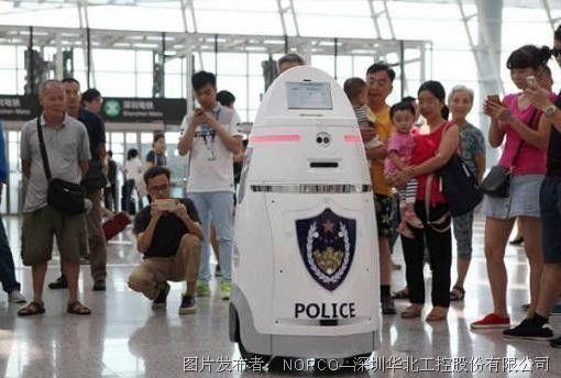 华北工控嵌入式主板助力巡警机器人 进一步打开安防市场