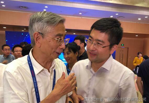 倪光南院士為傲拓科技的國產PLC點贊