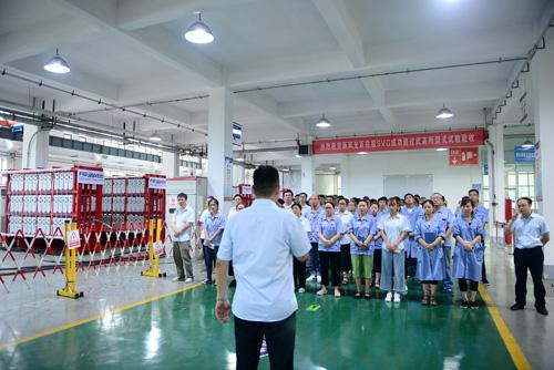 新风光百兆级高压水冷SVG成功通过中国电科院型式试验检测验收