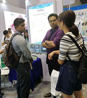 顾美科技PLC上海工博会大受欢迎