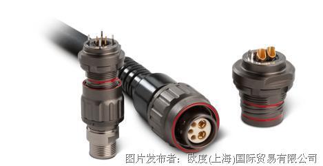 欧度全新上线!ODU Threaded Connector 螺纹连接器