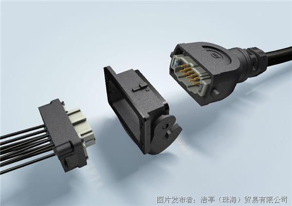 Han-Eco® B: 简化后侧连接器组装