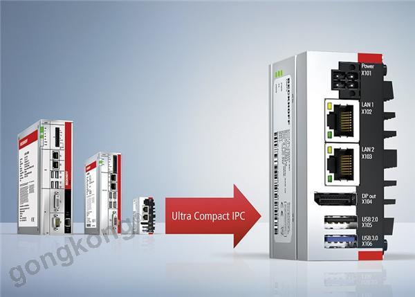 通用型工业PC C6015进一步扩展了基于PC的控制硬件的应用可能性