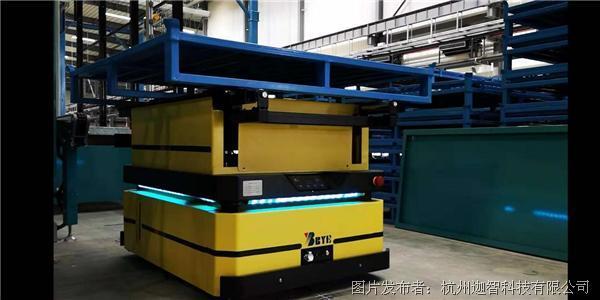 案例推介 | 迦智科技智能物流机器人助力知名电力成套企业实现数字化智能工厂