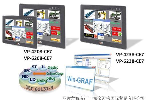 泓格 Win-GRAF 新产品: VP-42x8-CE7 和 VP-62x8-CE7