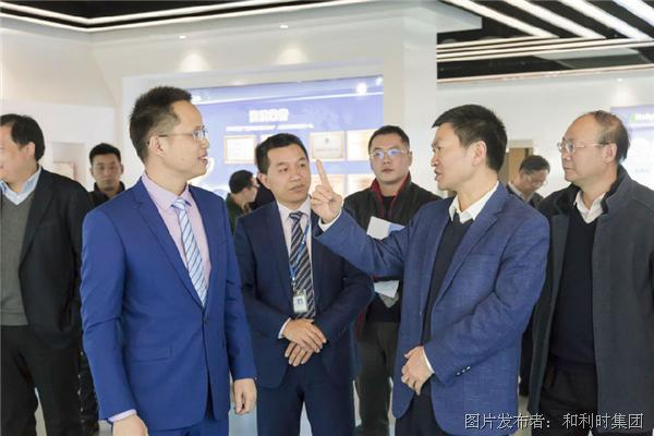 杭州市常务副市长戴建平莅临和利时杭州基地参观调研