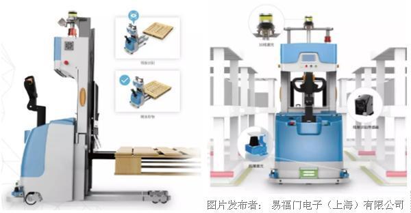 仙知机器人携手易福门3D ToF相机,华丽亮相慕尼黑上海电子展