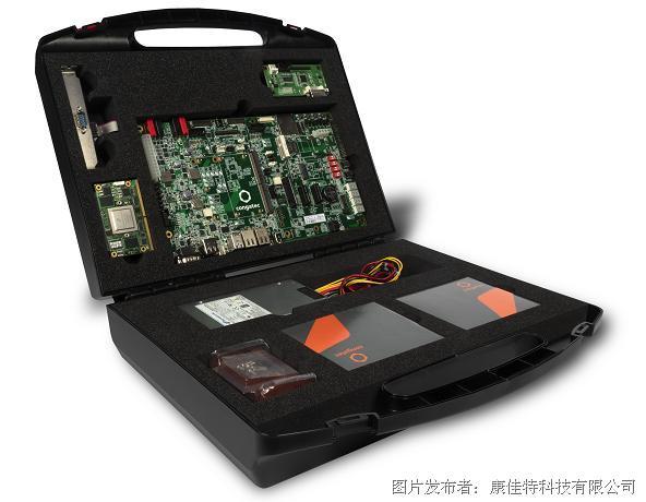 康佳特推出基于NXP i.MX 8设计的SMARC2.0快速入门套件