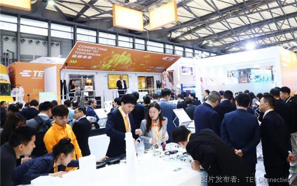 TE Connectivity 亮相2019慕尼黑上海电子展
