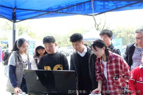 知识与实践并行,富士电机(中国)与浙江大学携手焊接大赛。