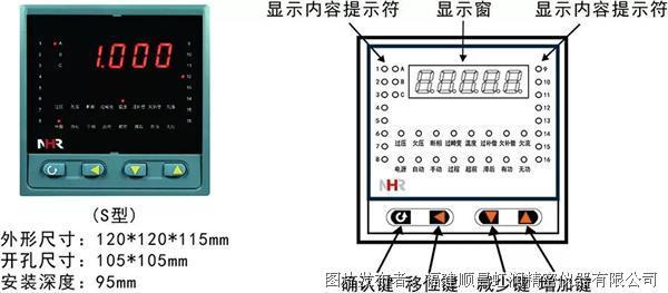 虹润NHR-3600系列低压无功功率自动补偿控制器