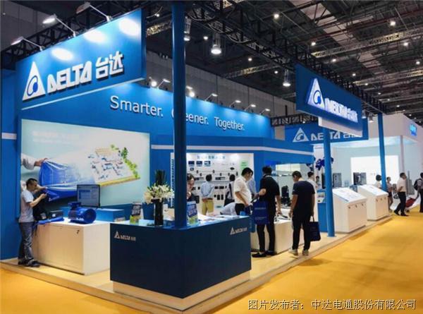 台达出席上海泵管阀展 协助泵管阀产业对接智能制造