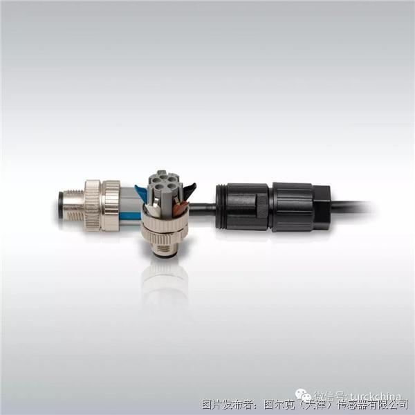 图尔克 M12现场接线式 接插件