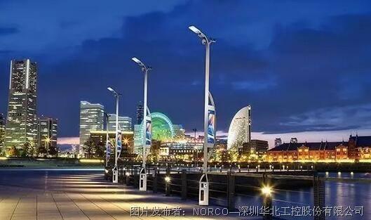 华北工控  打造智慧路灯系统  让智慧点亮城市