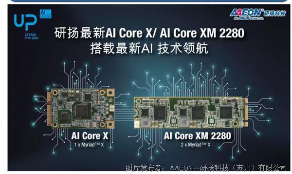 研扬科技 | 最新AI Core X/ AI Core XM 2280 搭载最新AI 技术领航