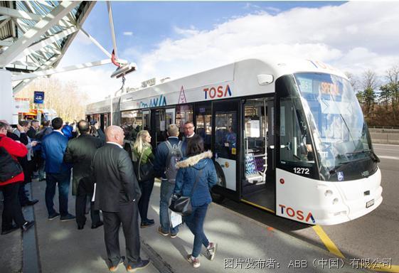 ABB攜手廈門金龍打造閃充電動公交,推動城市清潔出行