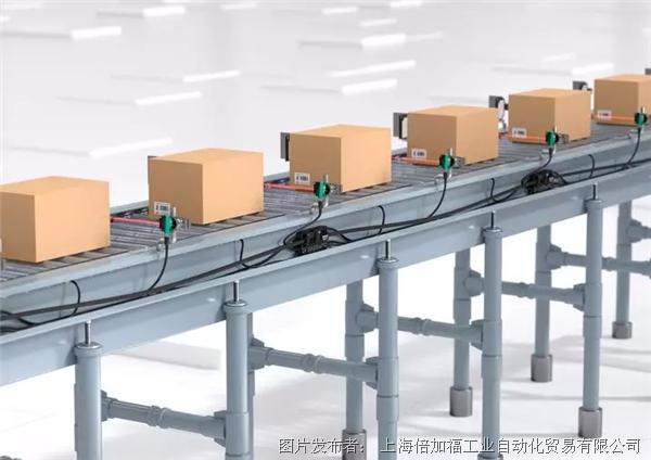 亮点推介 | 倍加福新型G20 ZPA辊筒模块:物流输送线中的智能缓冲系统