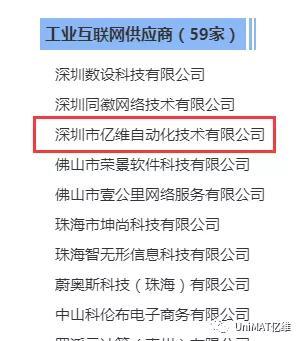 热烈祝贺亿维自动化受邀成为省互联网产业联盟会员单位!