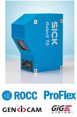 SICK RulerX 70 新一代高速一體式3D相機