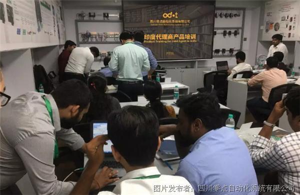 零点团队为国外自动化企业做产品深度培训