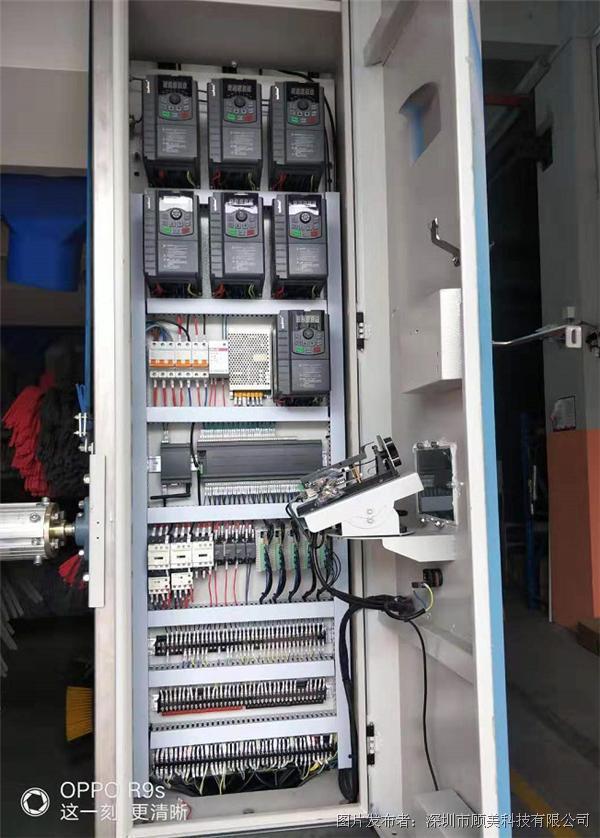 顾美PLC在全自动洗车机上应用案例