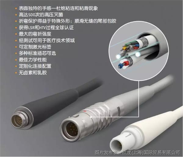 医疗应用新技术 | ODU硅胶尾部包胶系统解决方案上线!