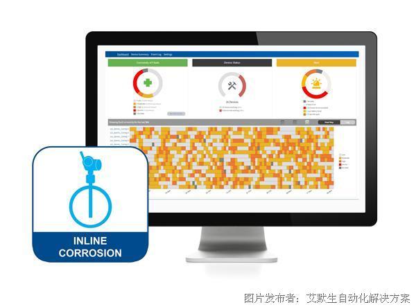 艾默生推出Plantweb™ Insight 在线腐蚀应用
