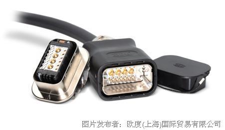 ODU-MAC® PUSH-LOCK——使用方便的混合型连接器,插拔循环超过5000次
