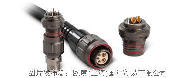 ODU Threaded Connector欧度螺纹连接器——可抵御严酷环境的先进连接器