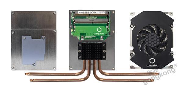康佳特推出面向100瓦边缘服务器生态系统的新型散热方案