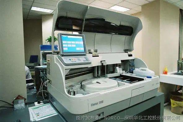 華北工控:嵌入式計算機系統在全自動生化免疫分析儀中的應用