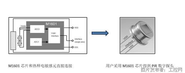 翠展微电子推出超低功耗数字式热释电传感器