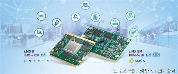 研华推出基于NXP i.MX8 ARM核心模块 多工业应用理想选择