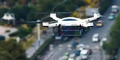 華北工控   警用無人機高速執勤,AI助推智慧交通建設加速