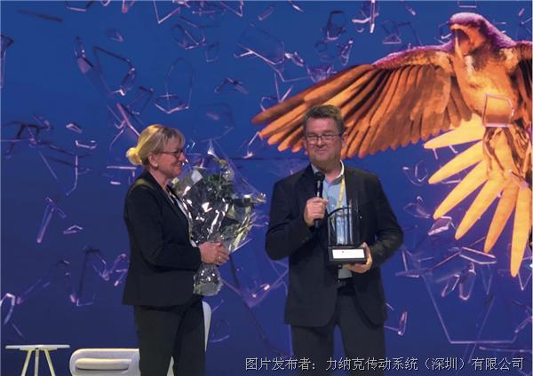 丹麥力納克總裁Bent Jensen兩度榮獲EY安永年度企業家獎