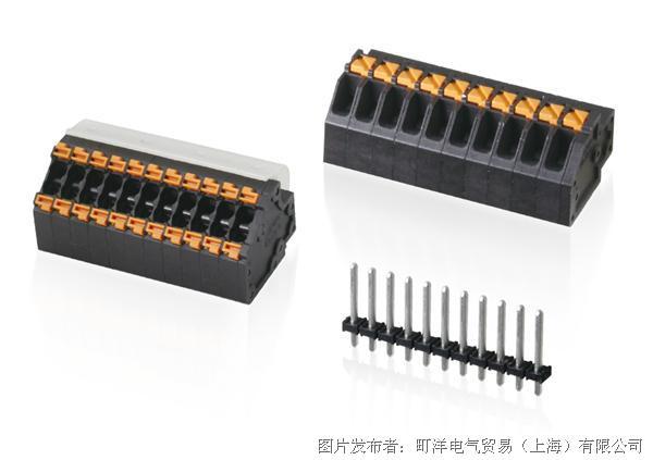 為緊湊空間而生,可焊針分離的 PCB 連接器
