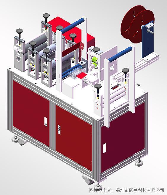 机械篇:PLC 一体机在KN95口罩机上的应用