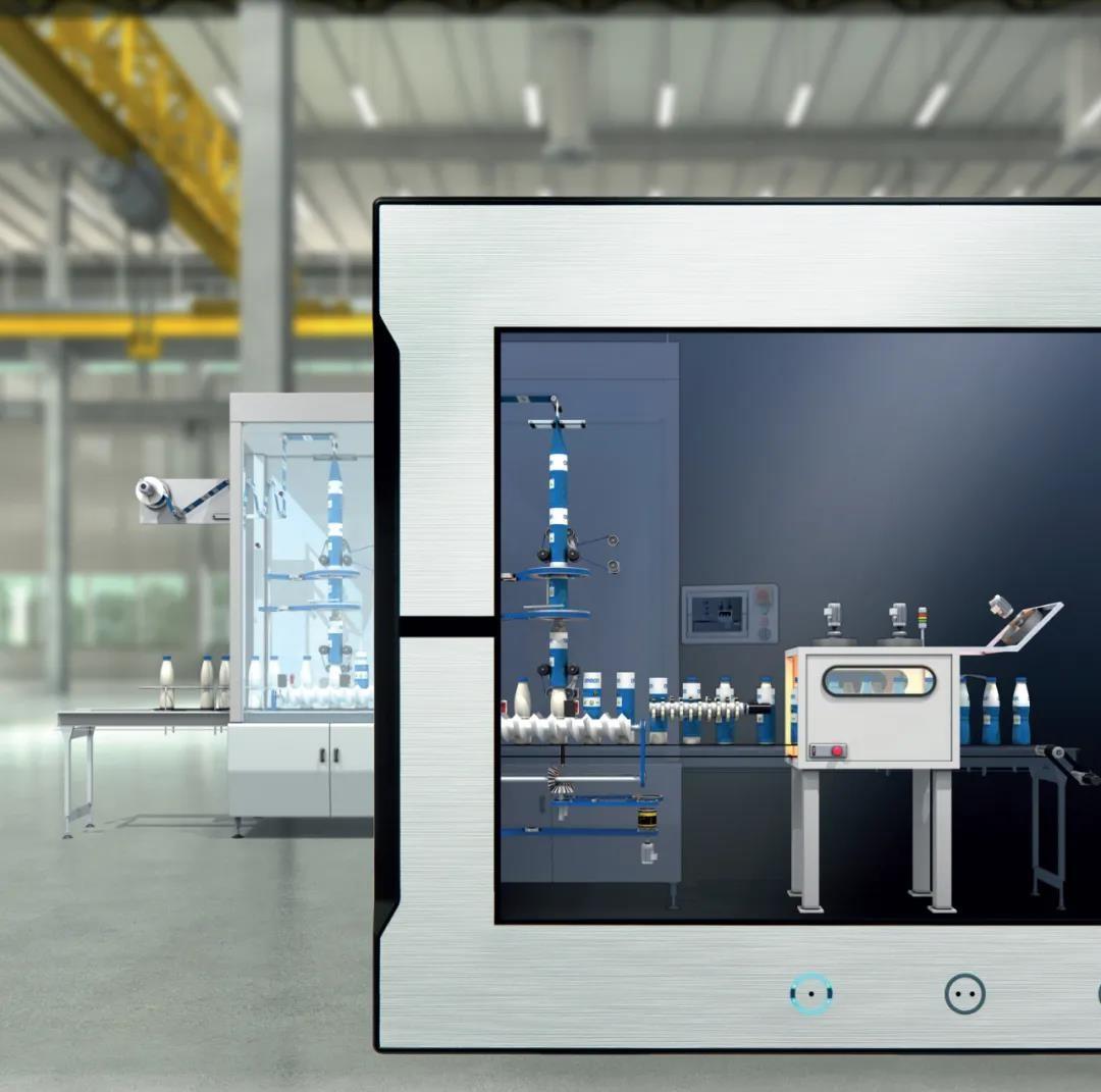欧姆龙【机器界面 NA系列】将新的人机交互技术融入生产