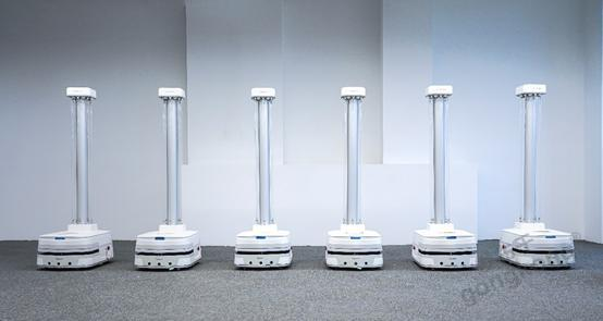 极智嘉重磅推出智能消毒机器人 打造后疫情时代公共健康卫士