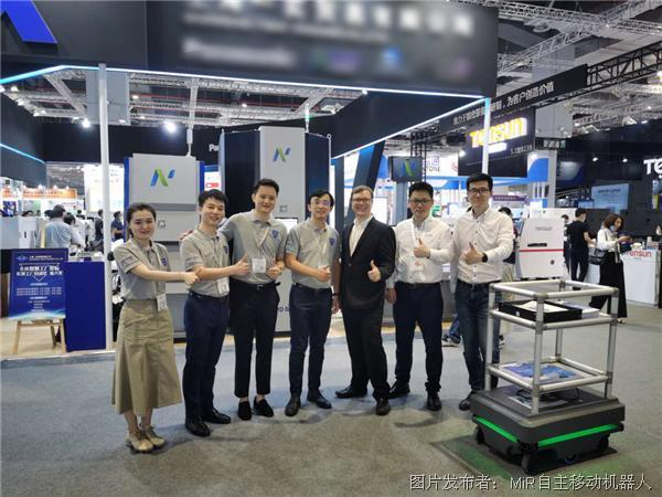 MiR自主移動機器人助力摯錦科技促進智能物料管理