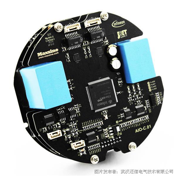 邁信電氣與英飛凌合作開發基于SiC-MOSFET的一體化伺服電機系統