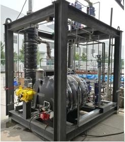 久茂温度传感器在燃气空气源热泵机组上的应用