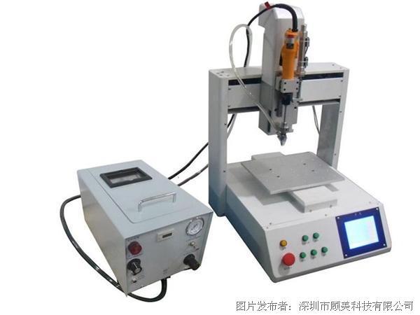 便捷、高效、低成本,顾美匠心打造螺丝机/点胶机通用控制系统