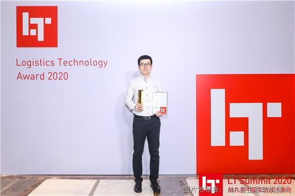 MiR移动机器人凭借卓越创新性在2020年中国物流技术奖摘桂