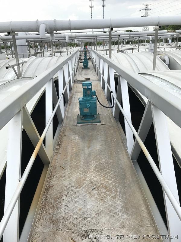 污水攪拌行業解決方案:高性能減速機為惡劣工況保駕護航
