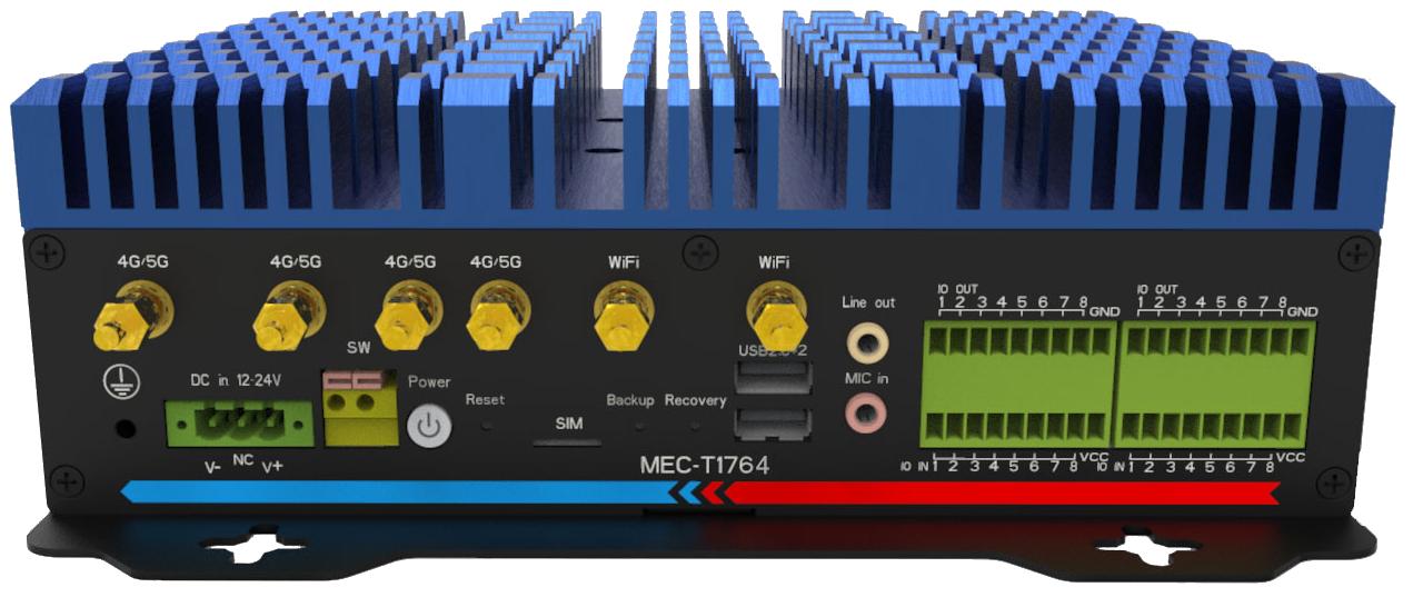 重磅推出--5G高端移动机器人控制器MEC-T1764
