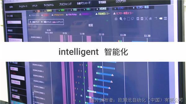 「intelligent 智能化」利用IoT化,兼顾效率和品质的提升