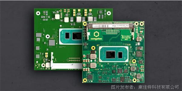 康佳特推出12款基于第11代英特尔®酷睿™处理器的计算机模块